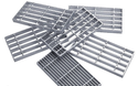 Heavy Stainless Steel Bar Grating, For Industrial