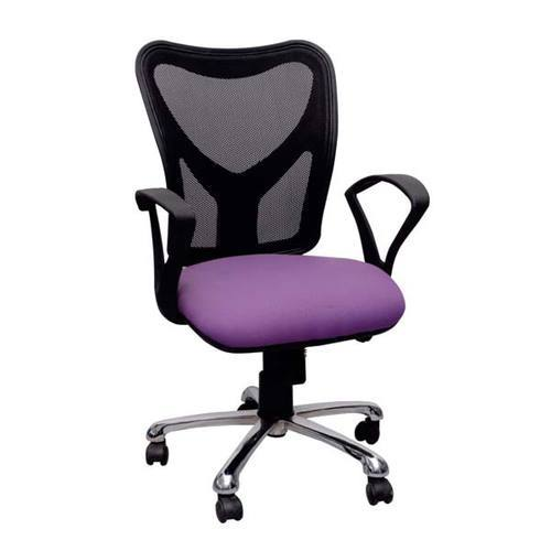 Black And Purple Attractive Maestro Office Chair