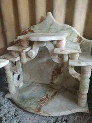 24X12 Malti Color Onex Marble Temple