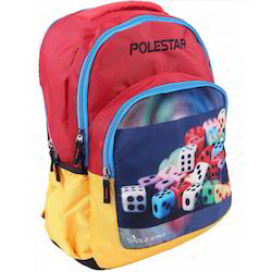 Red And Yellow School Bags