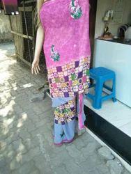 Silk Party Wear Saree, Construction Type: Machine