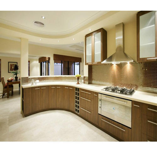 Modern Modular Kitchen Manufacturer From: Modular Kitchen At Rs 1500 /square Feet