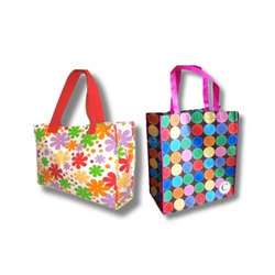 Elight Multi color Non Woven Designer Bag, Capacity: 5kg and 10kg