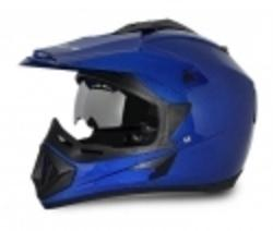Vega Off Road D V Blue Off Road Helmet Medium Helmets