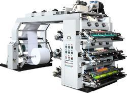 Paper Cup Blank Four Colour Flexo Printing Machine