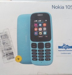 Nokiw Blue Nokia 105 Dual Sim