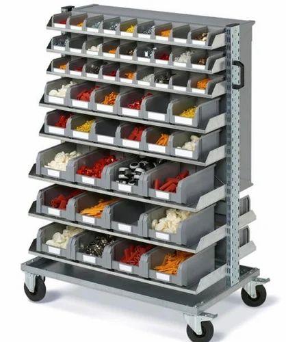Bins Storage Trolley