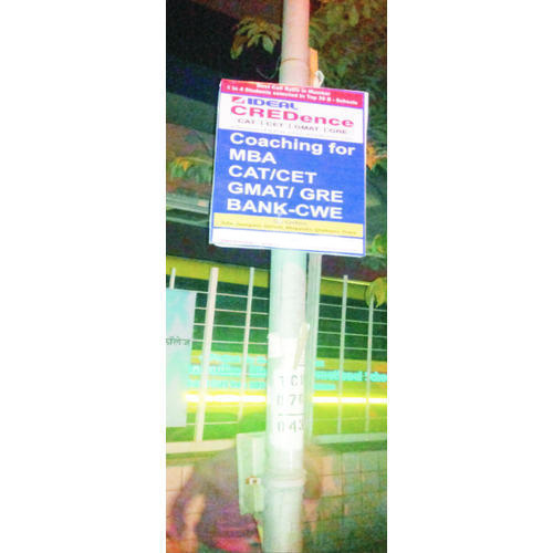 Street Pole Advertising Services