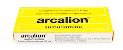 Arcalion Sulbutiamine Tablets