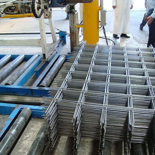 Manufacturing factory welded steel mesh