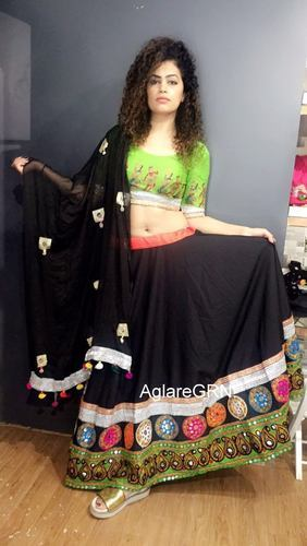eb58c929f0aaca Aglaregrn1 Embroidered Chaniya Choli at Rs 1200 /piece(s) | Gujarati ...