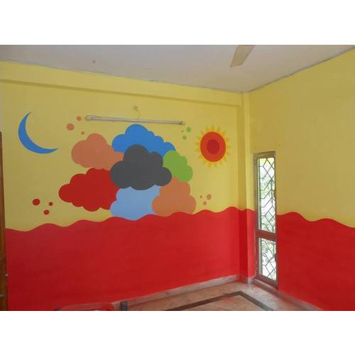 School Wall Painting - Play School Wall Painting Manufacturer from ...