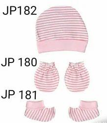 Unisex Multicolor Designer Baby mitten, boots, cap
