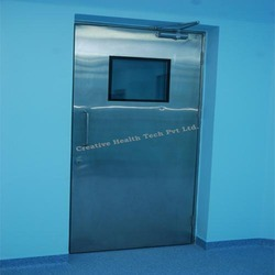 Stainless Steel Hospital Swing Door