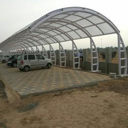 Tensile Fabric Car Parking Shed