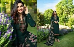 Vinay Silkina Royal Crepe Designer Salwar Kameez