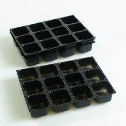 PVC 12 Cavity Chocolate Packaging Tray