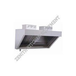 SS Exhaust Hood With Ducting