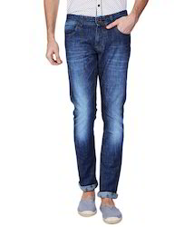 Plain Men Denim Jeans