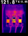 FLIR E4, E5, E6, and E8 with MSX Enhancement