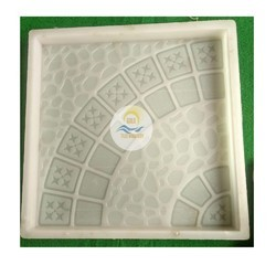 Chequered Silicon Paver Block Mould