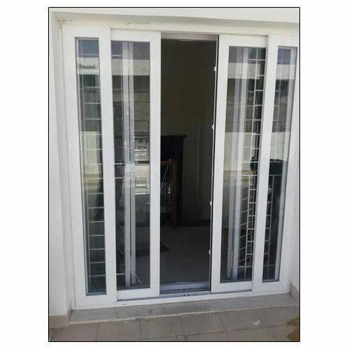 05b273e592e ... Two Track Sliding Doors: 2 Track UPVC Sliding Doors At Rs 550 /square  Feet