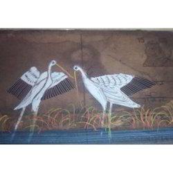 Painting Swan