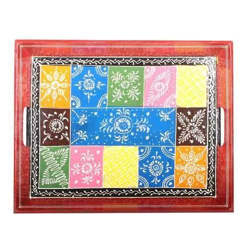 Multicoloured Tray