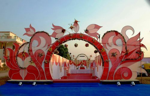& Stage Decoration u0026 Marriage Tent Decor Wholesale Trader from Surat