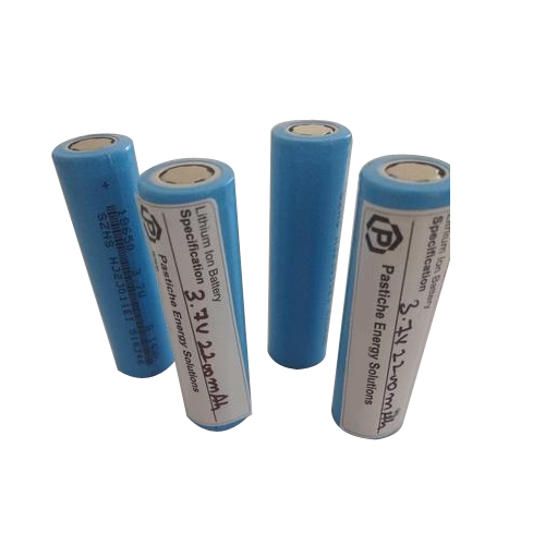 18650 3.7V 2200mAh Lithium Ion Battery