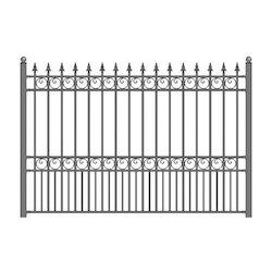 Grill Fence Design Grill fencing grill fencings steel fence workwithnaturefo