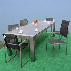 Dining Table Set   Stainless Steel Dining Table Set Manufacturer From  Hooghly
