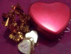 Homemade Heart Shaped Chocolates