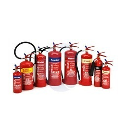 ABC Fire Extinguisher 4 Kg (ISI Approved), Capacity: 4.5 And 4 kg