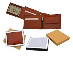 Brown Mens Leather Wallet