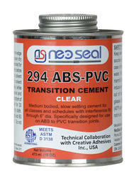 ABS-PVC Transition Cement