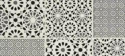 Dynasty Indus Silver Floor Tiles