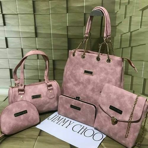 delicate colors wholesale sales new season Shopping Bags - Jimmy Choo Combo Bags Wholesaler from Kanpur
