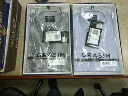 Grasim Printed and Checks shirt