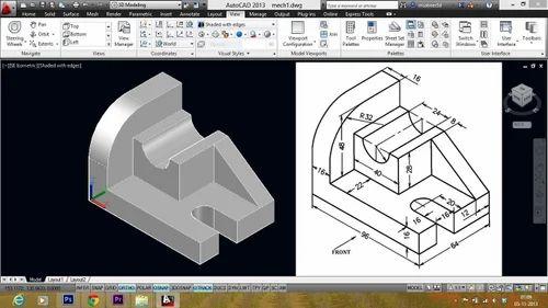 2d Drawings in Jaipur, Jhotwara by CAD Made Design | ID: 12433625955
