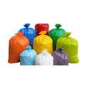 Plain Plastic Ldpe Garbage Bags, Size: Medium