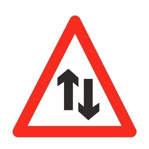 Triangular Traffic Sign Board