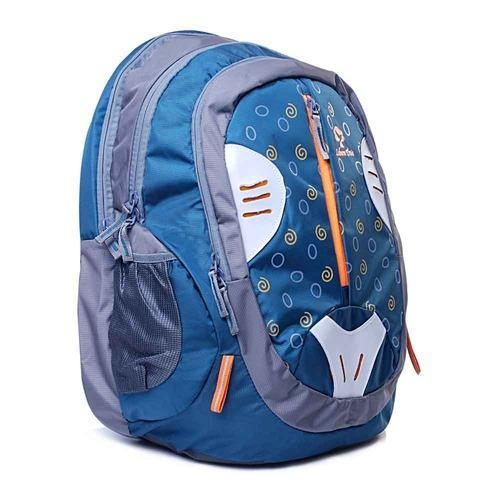 d92e4b4ce353 Polyester Blue And Grey Leben Tree Laptop Backpack