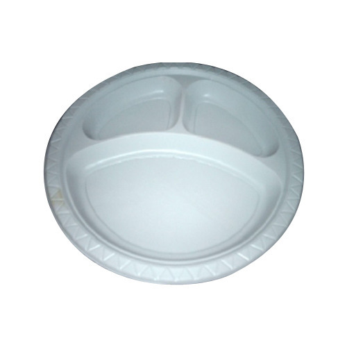 Disposable Plastic Plate at Rs 3 /piece(s) | Disposable Plastic ...