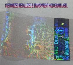 Hologram Overlay Labels