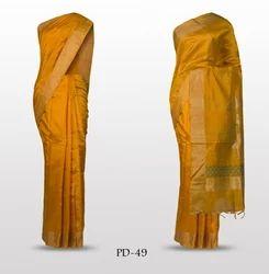 Party Wear Plain Silk Jacquard Sarees, 6.3 m (with blouse piece)