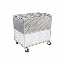 Hot Case Food Trolley