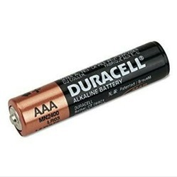 Duracell Batteries, Model No: AAA