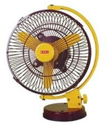 Shaded Table Fans