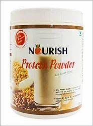 Light Brown Nourish Protein Powder